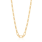 Ania Haie Figaro Chain Necklace  - Gold