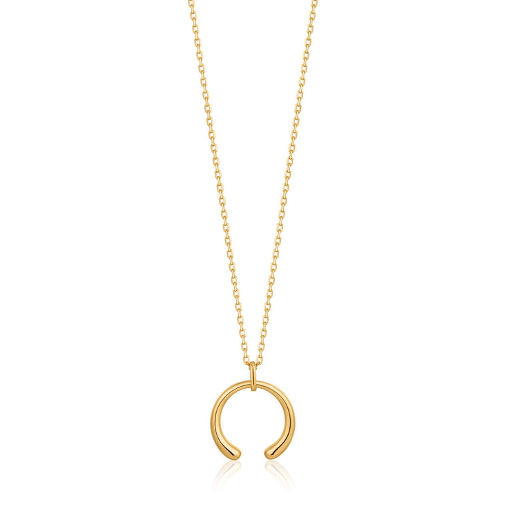 Ania Haie Luxe Curve Necklace  - Gold