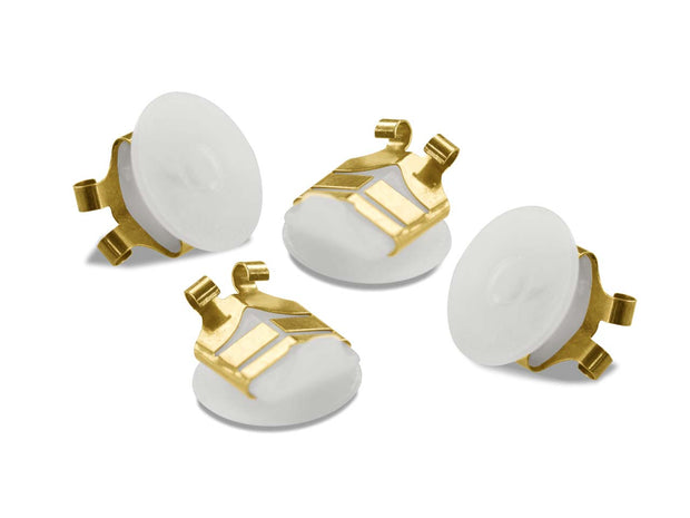 Gold Lox Secure Earring Backs 2 Pair Pack