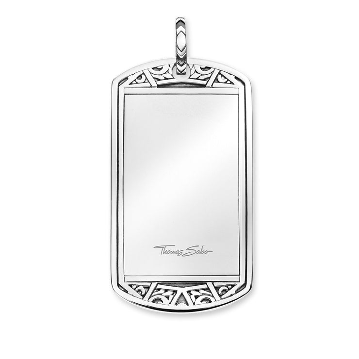 "Thomas Sabo Pendant ""Dog Tag"""