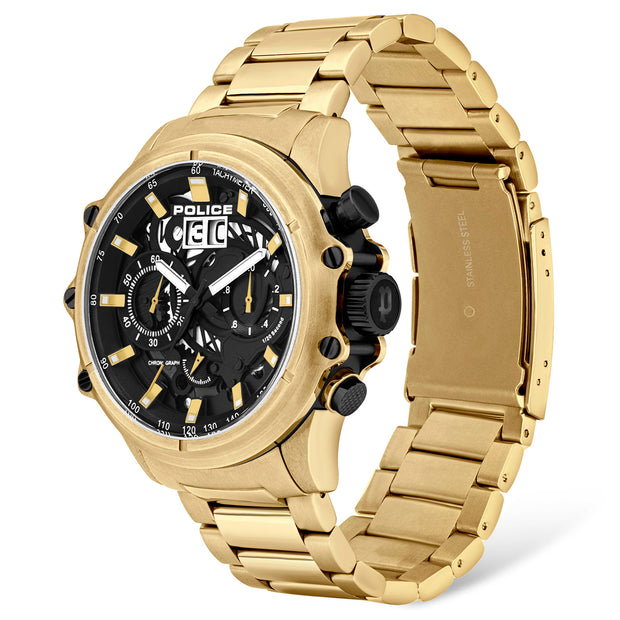 Police Luang Mens Chronograph Watch PL.16018JSG/02M