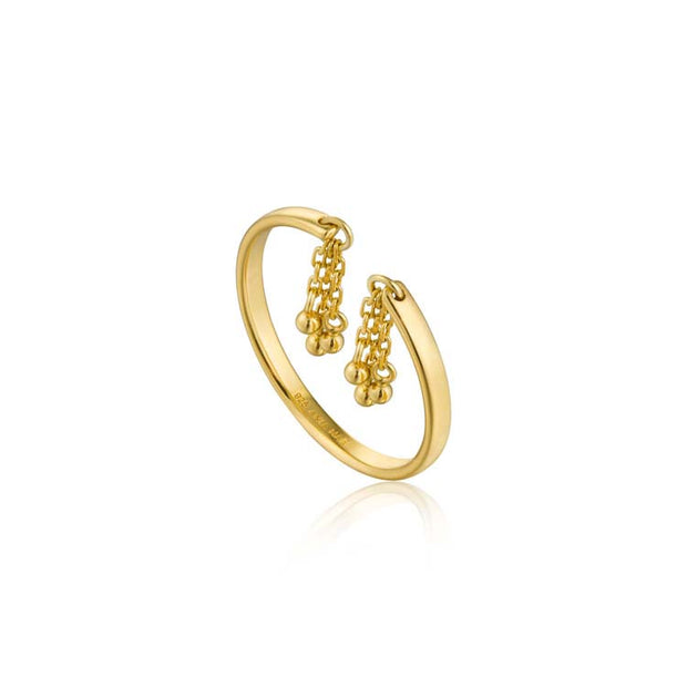 Ania Haie Tassel Drop Ring - Gold
