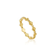 Ania Haie Bohemia Ring - Gold