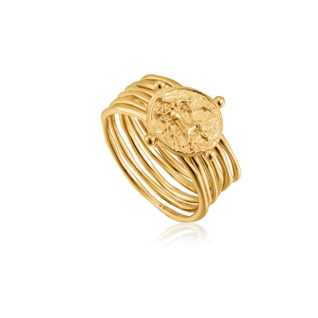 Ania Haie Apollo Ring  - Gold