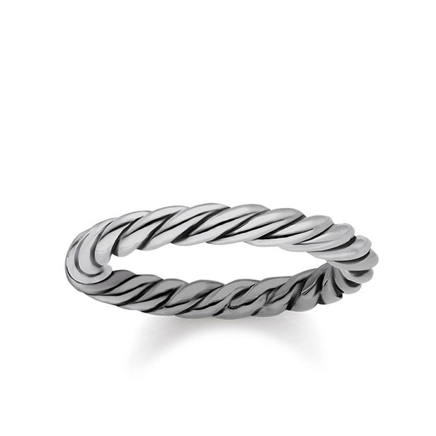 "Thomas Sabo Ring ""Cord Look"""
