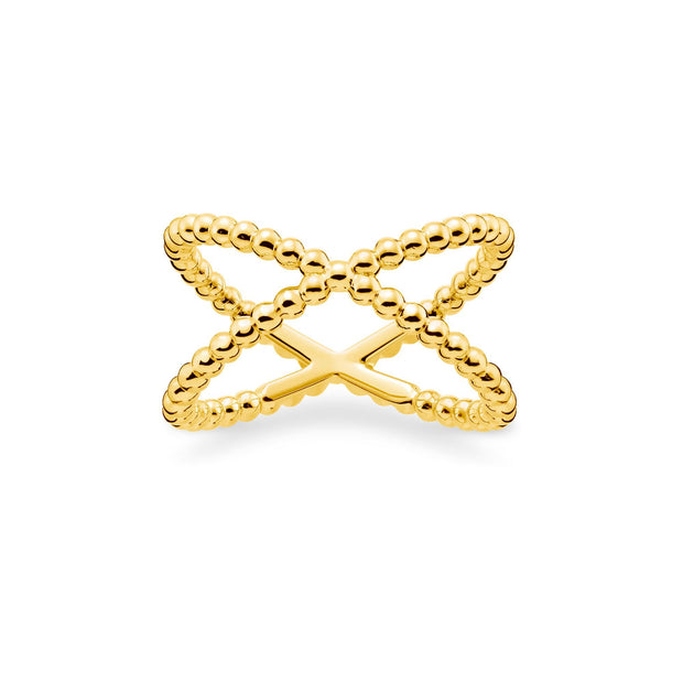 "Thomas Sabo Ring ""Dots"" Gold 
