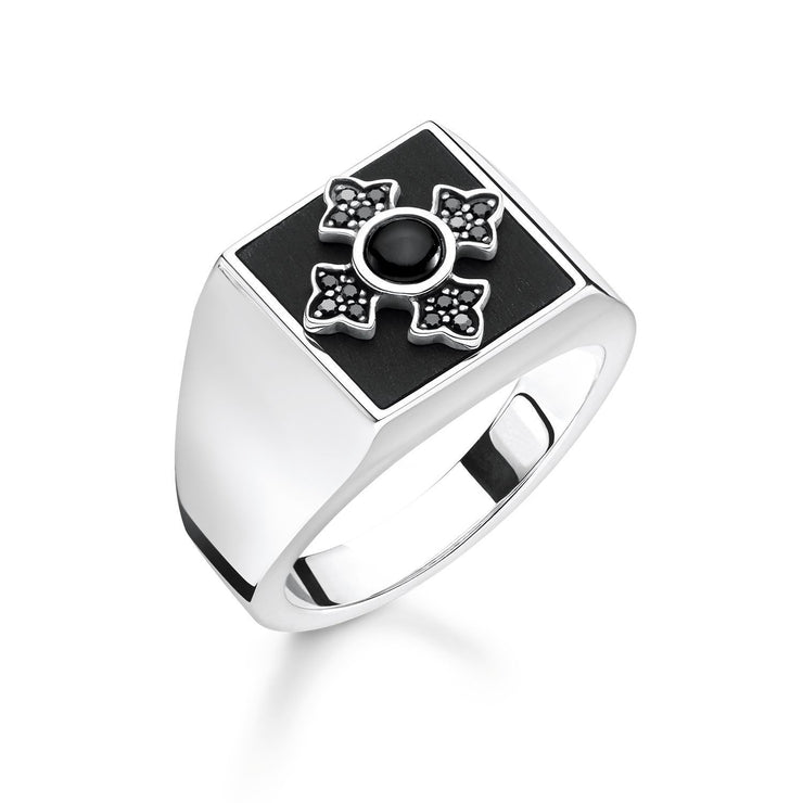 "Thomas Sabo Ring ""Royalty Cross"""