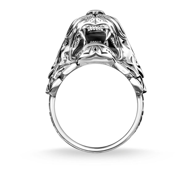 Thomas Sabo Ring Tiger Silver