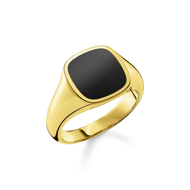 Thomas Sabo Ring Classic Black Gold | The Jewellery Boutique