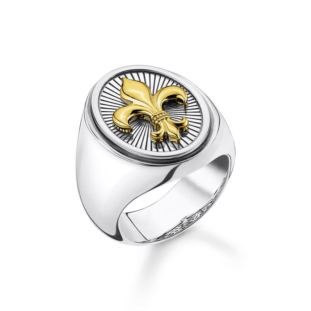 Thomas Sabo Ring Fleur-de-lis | The Jewellery Boutique