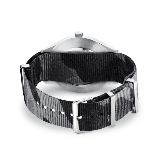 "Thomas Sabo Watch Band ""Code TS Nato Black Camouflage"""