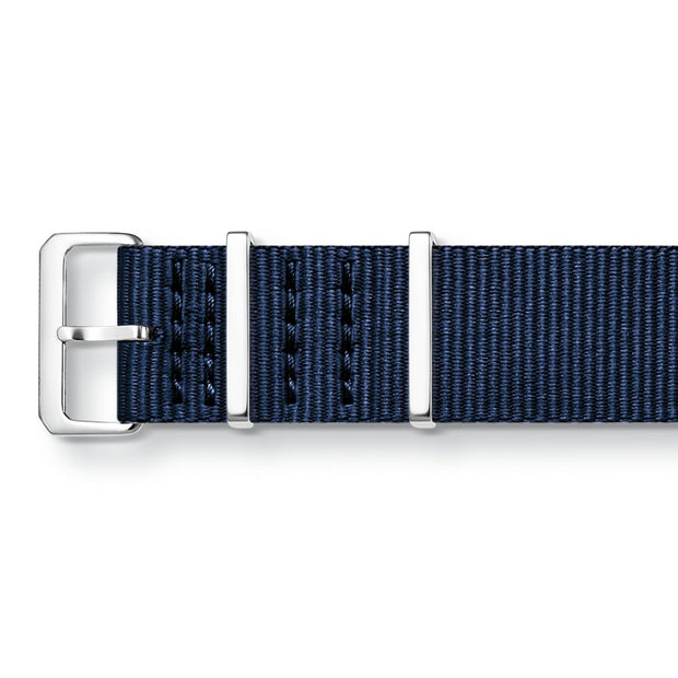"Thomas Sabo Watch Band ""Code TS Nato Dark Blue"""