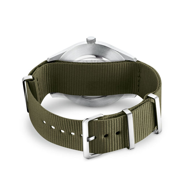 "Thomas Sabo Watch Band ""Code TS Nato Khaki"""