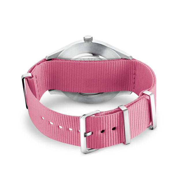 "Thomas Sabo Watch Band ""Code TS Nato Pink"""