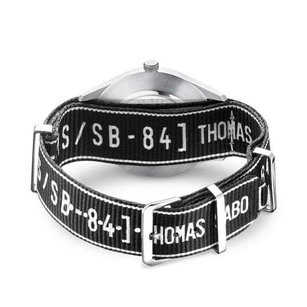 Thomas Sabo Watch Band Urban CODE TS NATO, Black