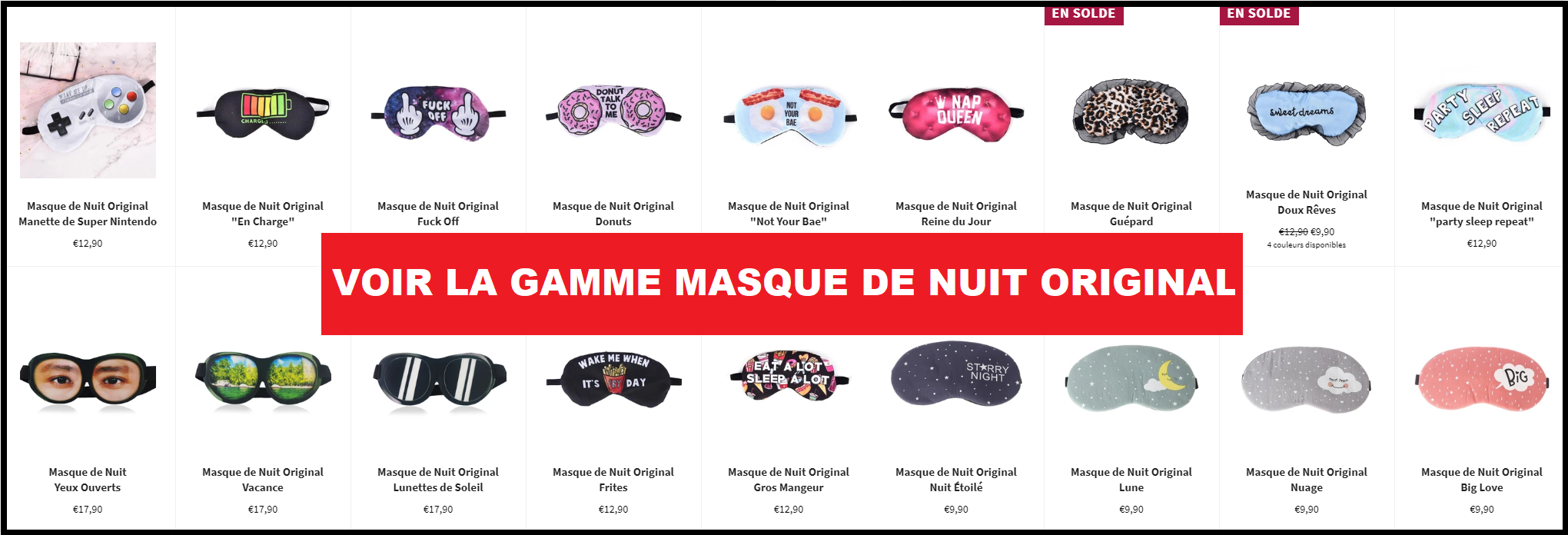 Masques de Nuit Original