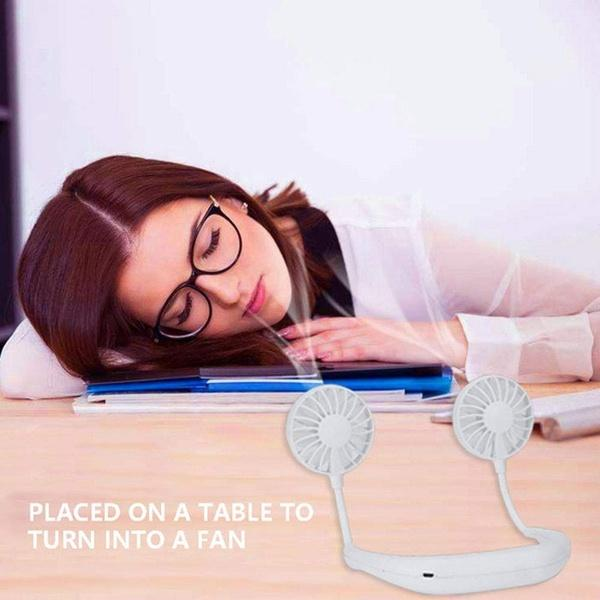 Lazy Neckband Fan - Keep Cool Wherever You Are!