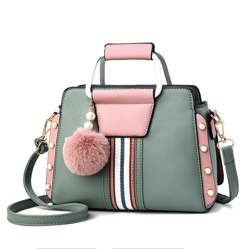 Fashion color matching handbag
