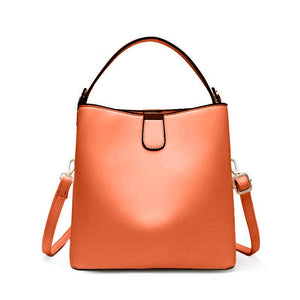 Surotama medium leather bucket bag