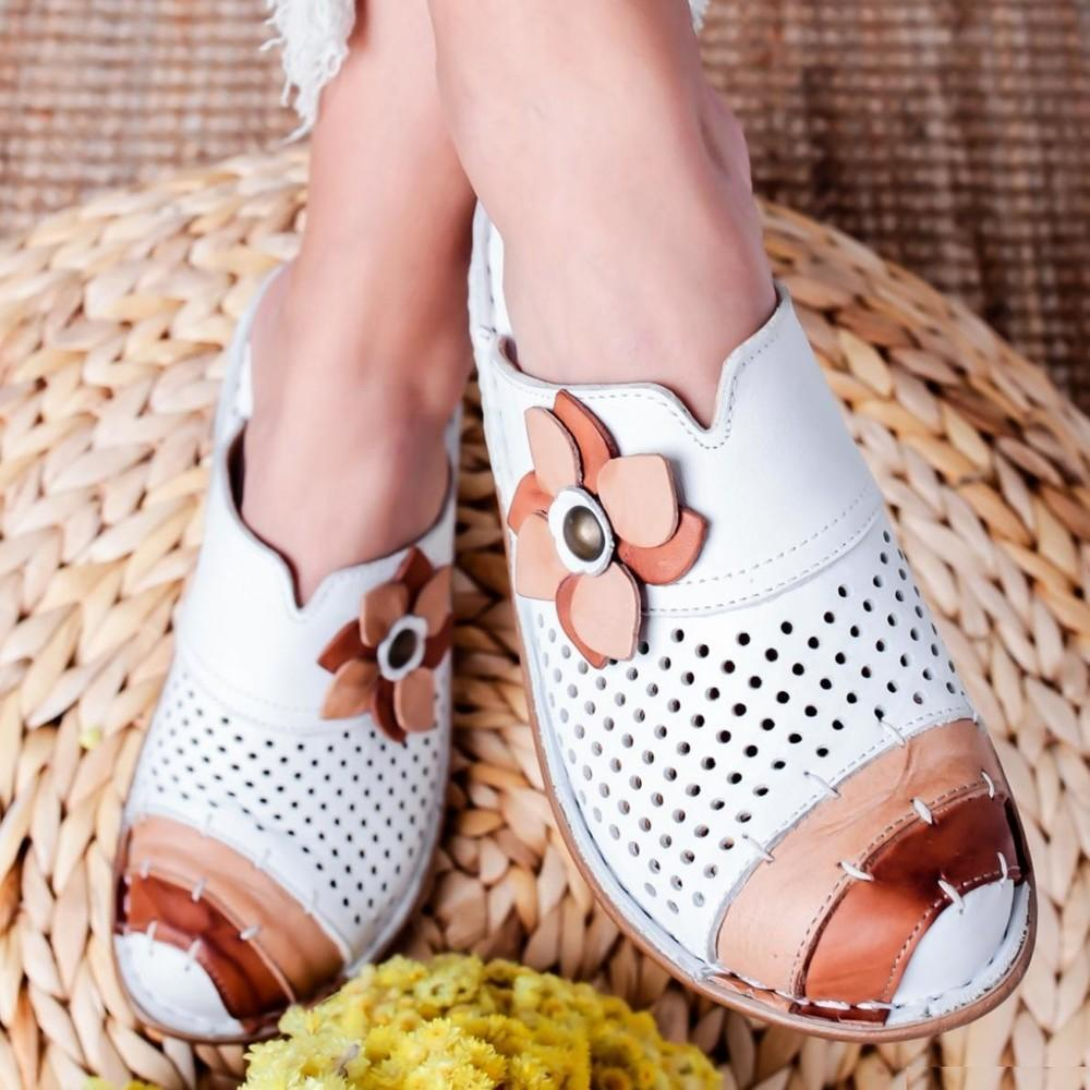 Women's  Vintage Closed Toe Casual Wedges Slippers Clogs Mule