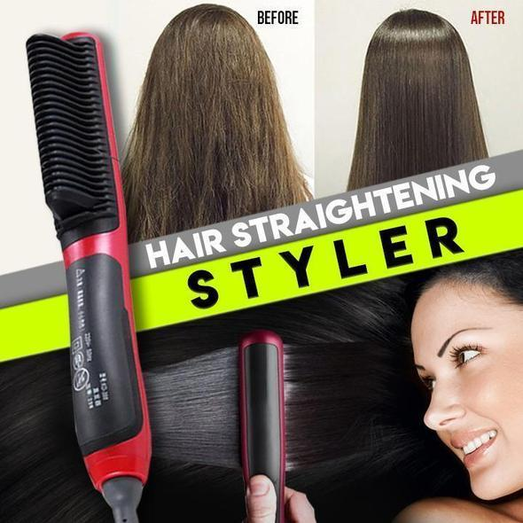 (🔥Free return within one year🔥) - Hair Straightener Styling Comb
