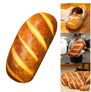 Funny 3D Simulation Bread Shape Pillow
