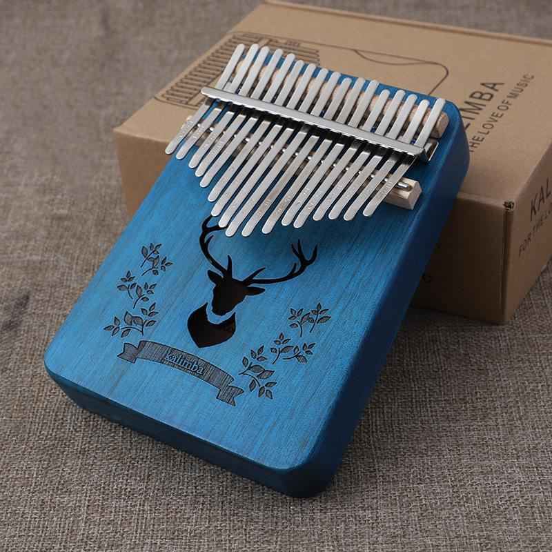🎶$24.99 Buy 2 Free Shipping👩‍🎨Absolutely wonderful instrument--Gorgeous 17 Keys Kalimba