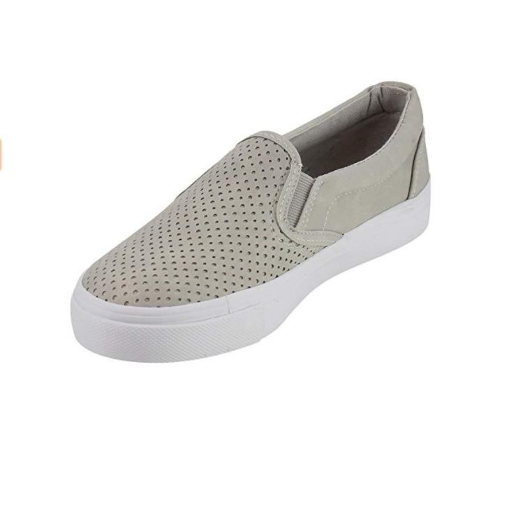 【50% Off】【Buy 2 Free Shipping】Hollow breathable Slip On Running Flat Sneakers