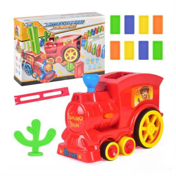 【2020 best toy】Automatic Domino Train