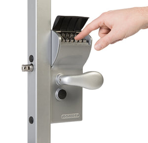 Locinox Vinci Dual Sided Mechanical Gate Lock With Free Exit