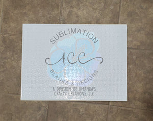 Sublimation ready 500 pc puzzle blanks RTS