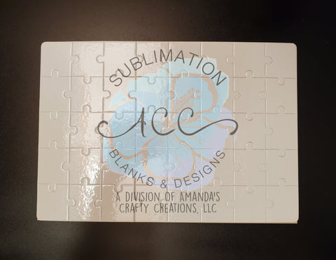 Sublimation ready 40 pc puzzle blanks RTS