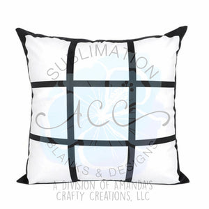 "Sublimation DOUBLE-SIDED panel photo 16""x16"" pillow cases RTS"