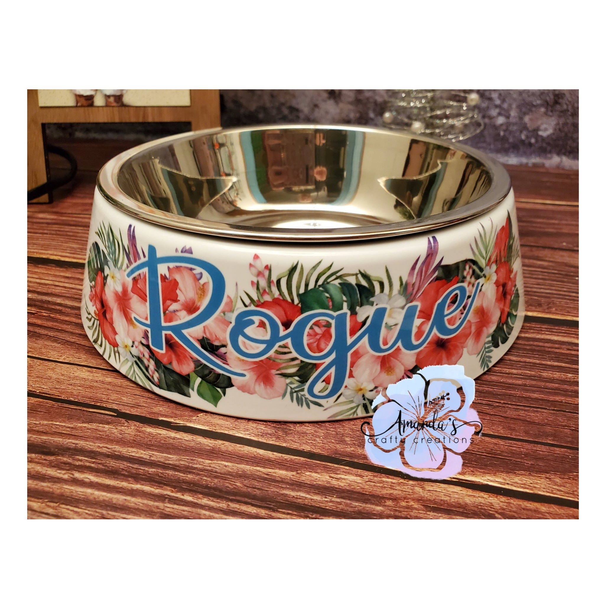 Sublimation ready PET BOWL with stainless steel insert RTS