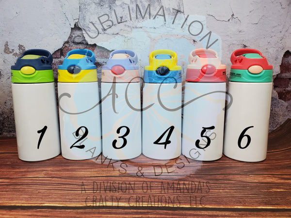 KID/Youth Sublimation ready tumbler RTS