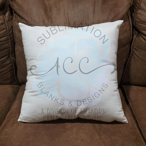 "Sublimation short plush 18""x18"" pillow COVER RTS"