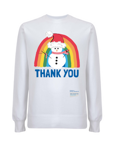 Snowman Thank You NHS Jumper - Various Colours - Adult