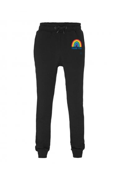 Unisex Thank You NHS Jogger - Black - Kindred