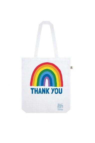 Thank You NHS Tote Bag - White - Kindred