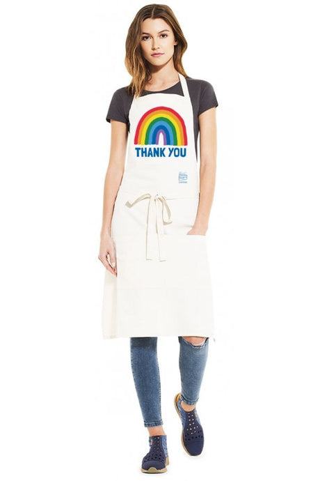Adult Thank You NHS Recycled Unisex Apron w/ Pockets - Kindred