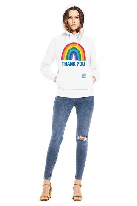 Adult Unisex Thank You NHS Hoody Side Pockets - Kindred