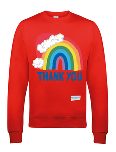 Santa Hat Thank You NHS Jumper - Various Colours - Adult