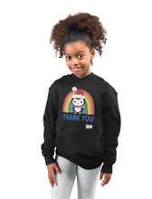 Load image into Gallery viewer, Kids Penguin Thank You NHS Hoodie - Various Colours