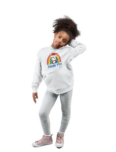 Kids Penguin Thank You NHS Hoodie - Various Colours