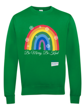 Load image into Gallery viewer, Be Merry Be Kind Thank You NHS Jumper - Various Colours - Adult