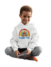 Load image into Gallery viewer, Kids Reindeer Thank You NHS Hoodie - Various Colours