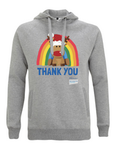 Load image into Gallery viewer, Reindeer Thank You NHS Hoodie - Various Colours - Adult