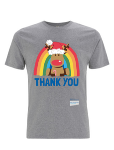 Reindeer Thank You NHS T-Shirt - Various Colours - Adult