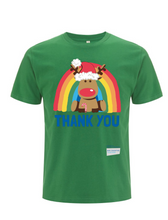 Load image into Gallery viewer, Reindeer Thank You NHS T-Shirt - Various Colours - Adult