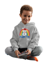 Load image into Gallery viewer, Kids Snowman Thank You NHS Hoodie - Various Colours